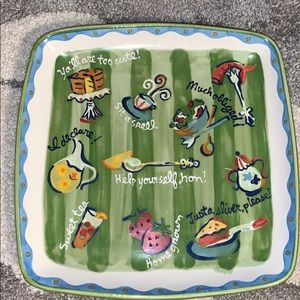 Becky Denny Southern Living platter